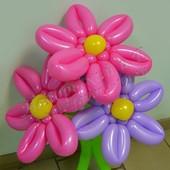 Цветы из воздушных шаров купить в нижнем новгороде купить цветы в серове дешево