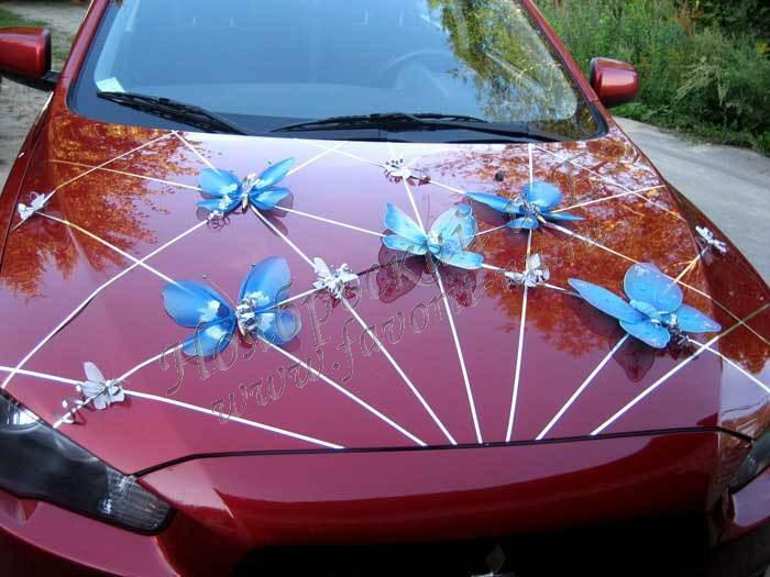 Украшения машины для свадьбы своими руками